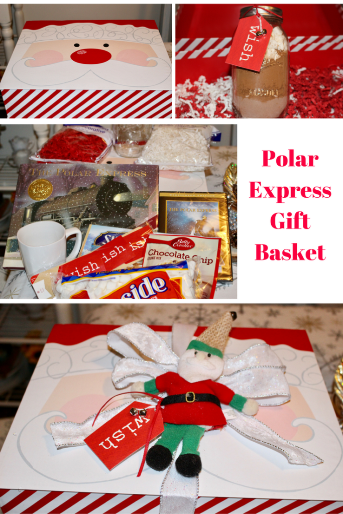 Polar Express Gift Basket Our Crafty Mom