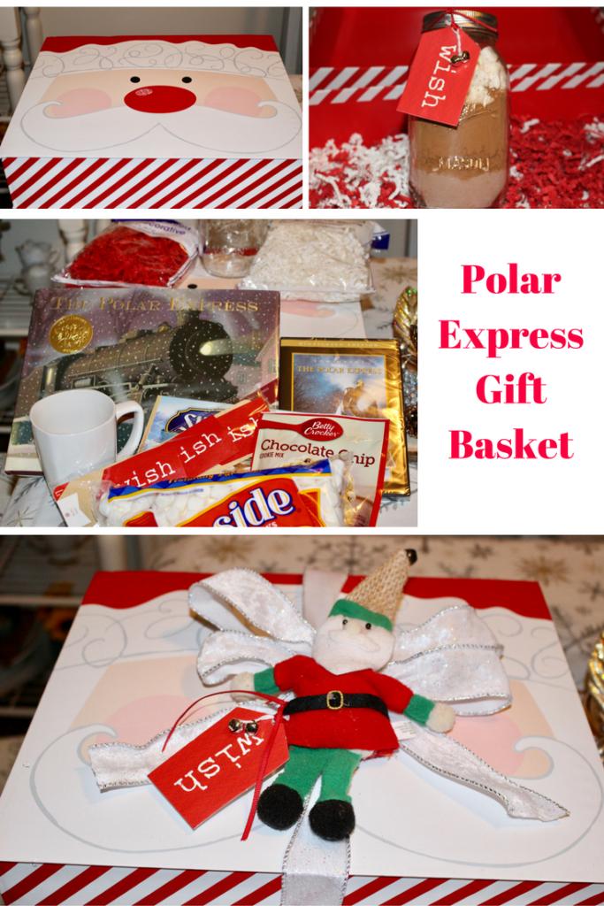 Polar Express Gift Basket Our Crafty Mom