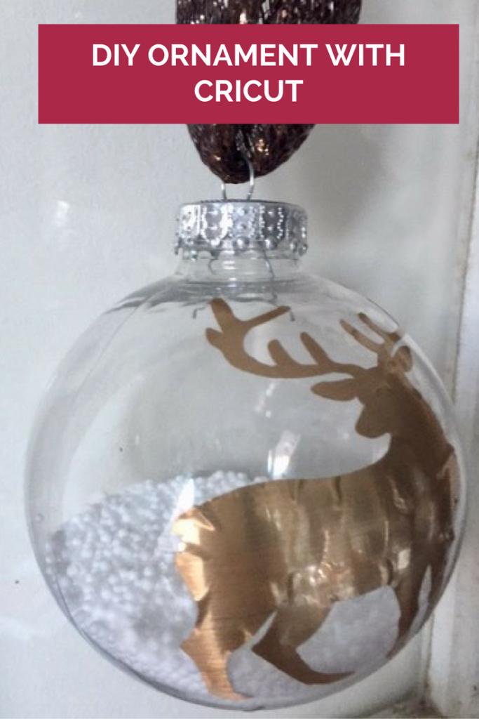 DIY Ornament With Cricut