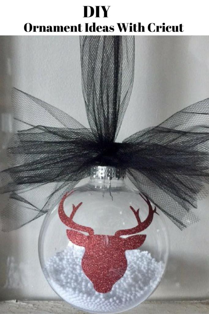 DIY Ornament Ideas With Cricut Our Crafty Mom
