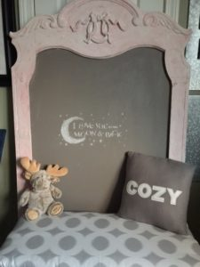 DIY Mirror Turned Chalkboard With Saltwash Our Crafty Mom