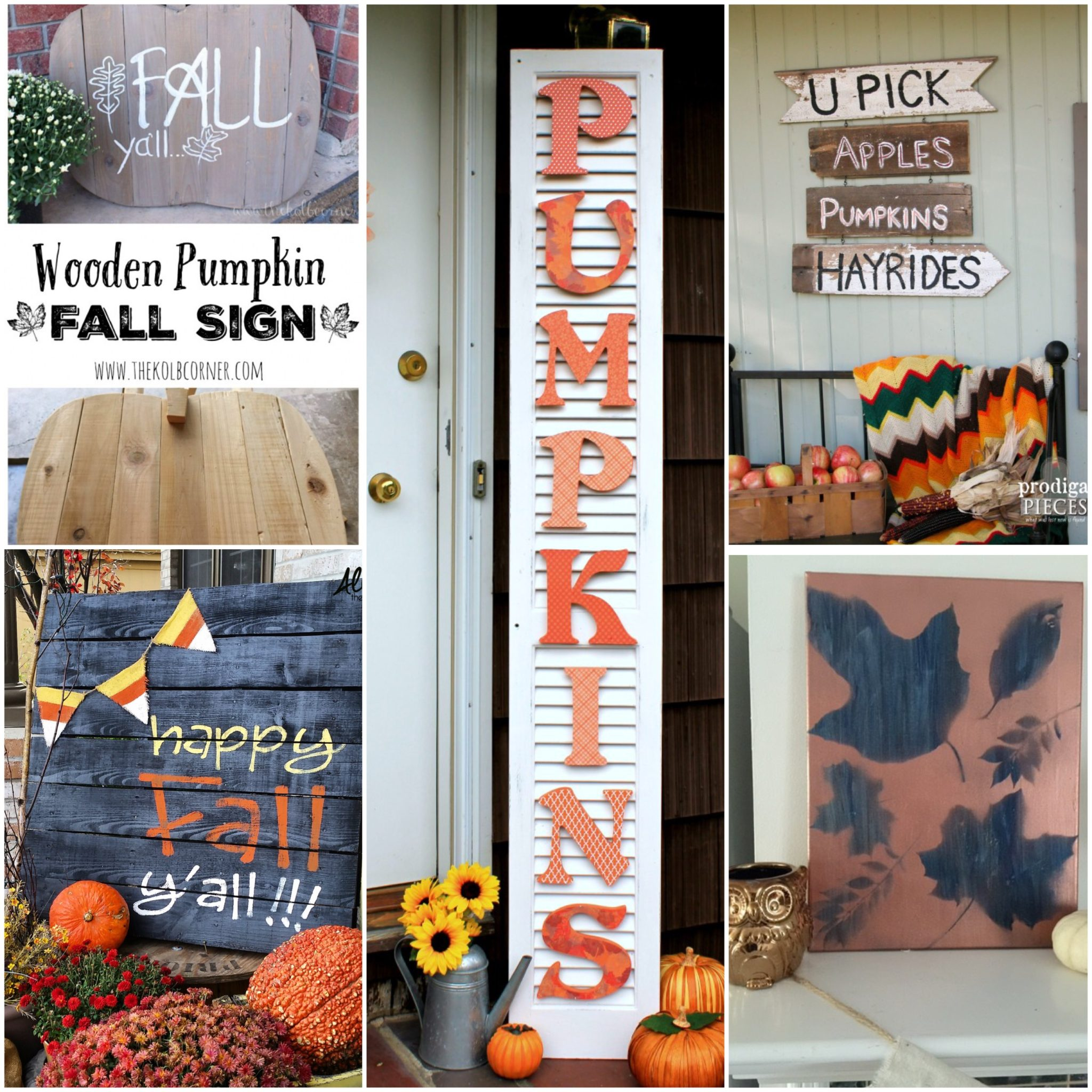 5 DIY Fun Fall Signs Our Crafty Mom