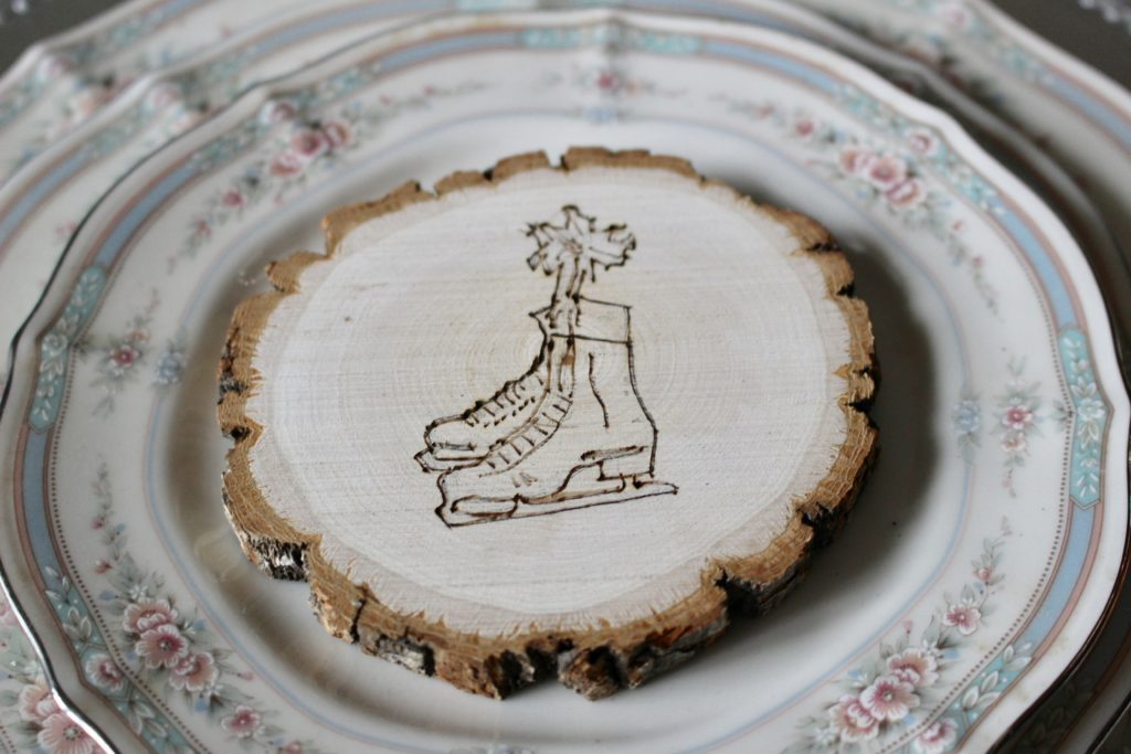 DIY Rustic Wood Slice Ornament Our Crafty Mom