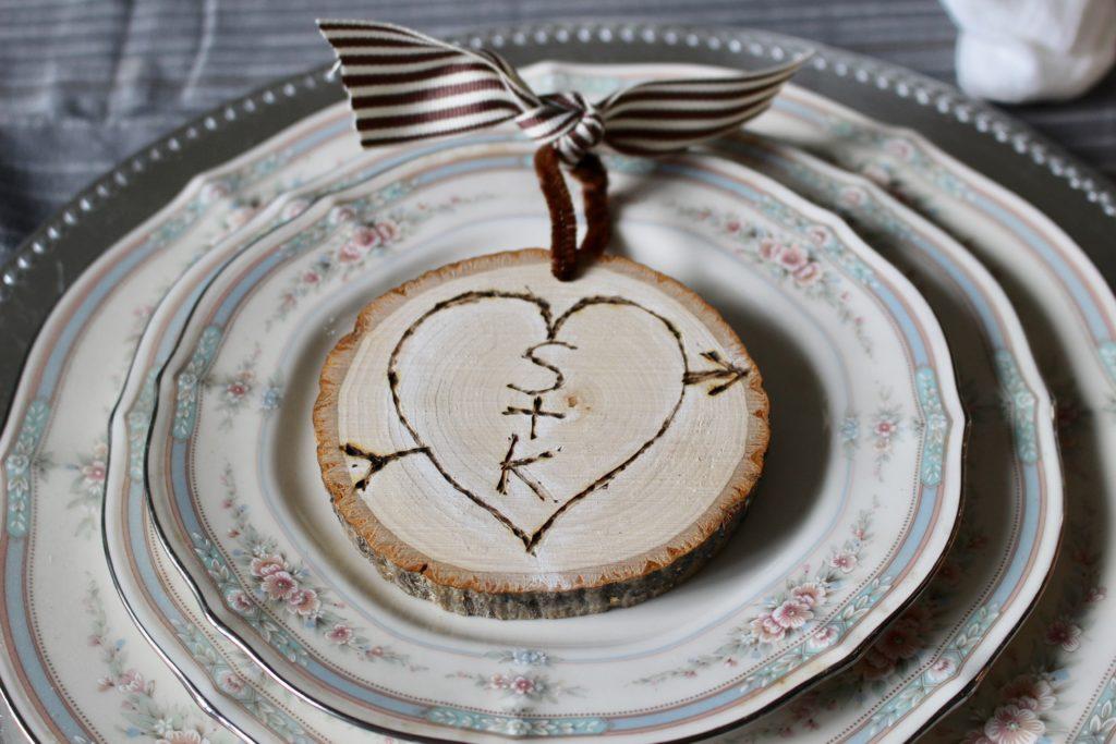 DIY Rustic Wood Slice Ornament Our Crafty Mom