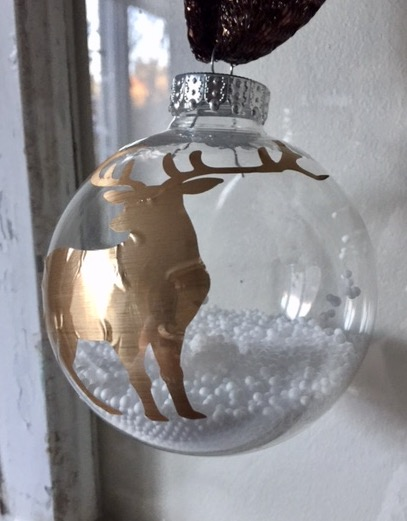 DIY Ornament With Cricut