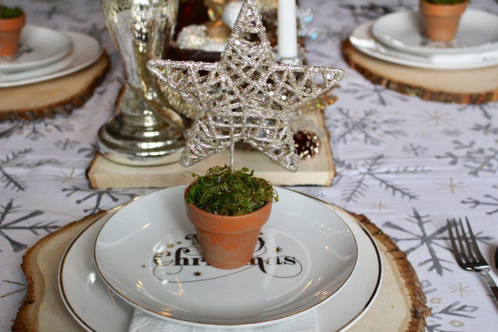 Silver & Gold Christmas Tablescape Our Crafty Mom