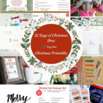 12 Days of Christmas Ideas Day 9-Christmas Printables