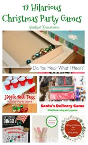 12 Days of Christmas Blog Hop-Day 1 Christmas Party Games