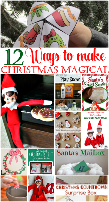 12 Days of Christmas Ideas Day 10-Make Christmas Magical Our Crafty Mom