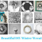 12 Beautiful DIY Winter Wreaths