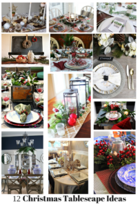12 Days of Christmas Blog Hop-Day 4 Christmas Tablescapes