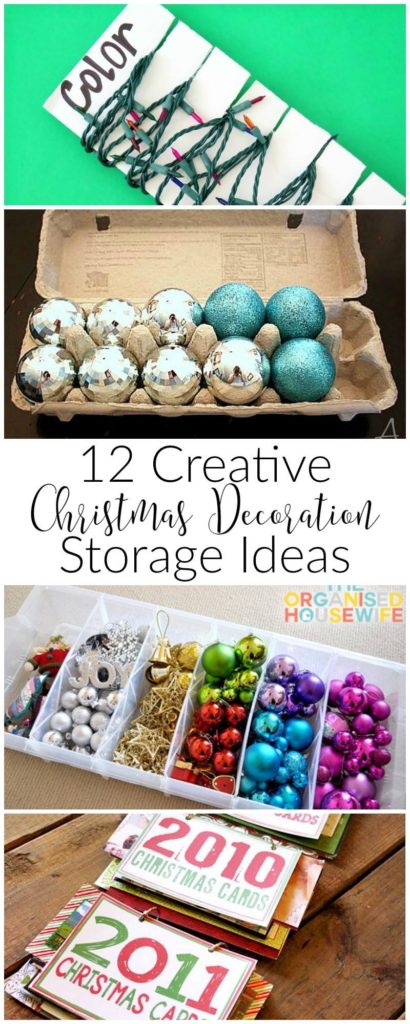 12 Days of Christmas Day3-Creative Storage Ideas Our Crafty Mom