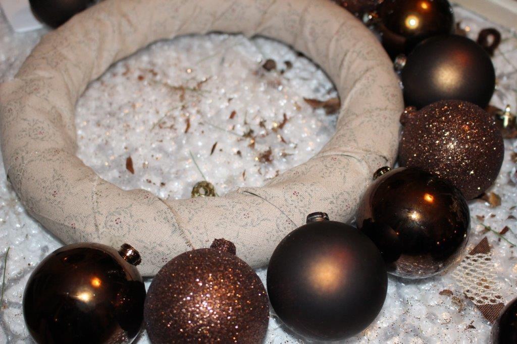 DIY Christmas Ball Ornament Wreath Our Crsfty Mom