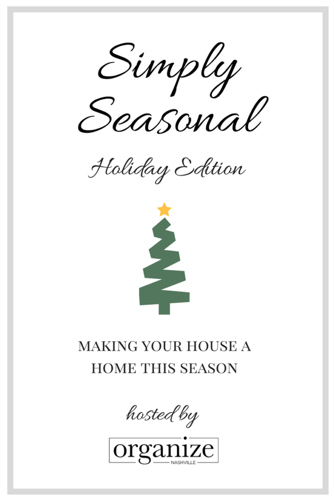 Holiday home tour simply Seasonal our Crafty mom