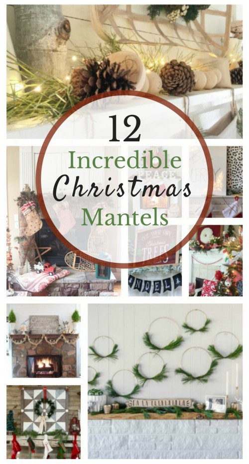 12 Days Of Christmas Ideas Day 11-Christmas Mantels Our Crafty Mom . Join us for the 12 Days of Christmas Ideas Series 144 ideas