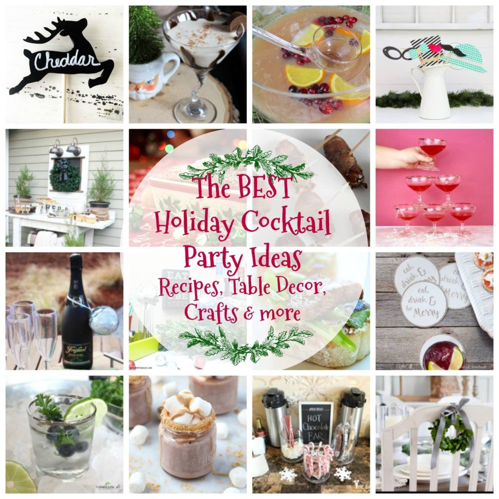 Holiday Cocktail Party Blog Hop Our Crafty Mom
