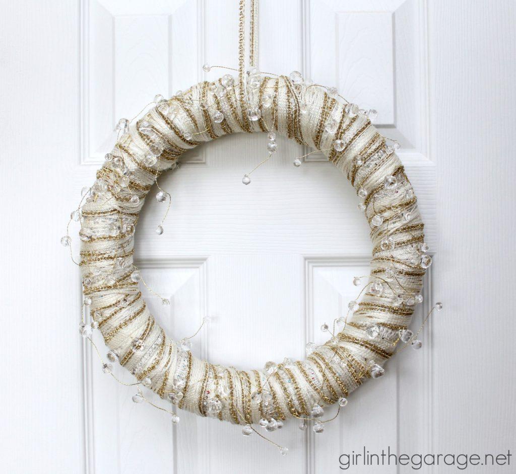 12 Beautiful DIY Winter Wreaths Our Crafty Mom
