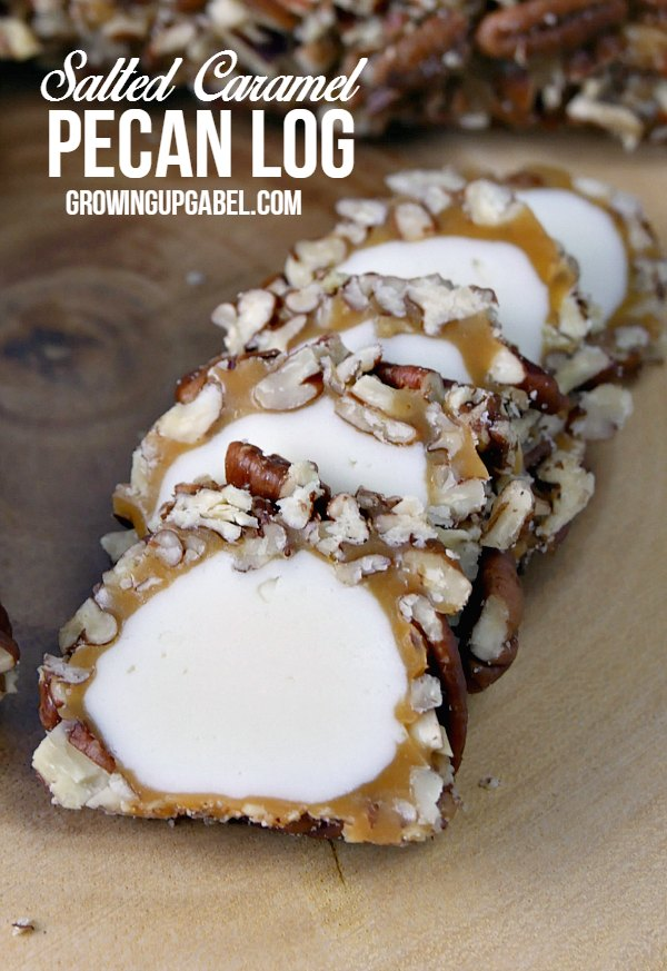 http://growingupgabel.com/salted-caramel-pecan-log-recipe/