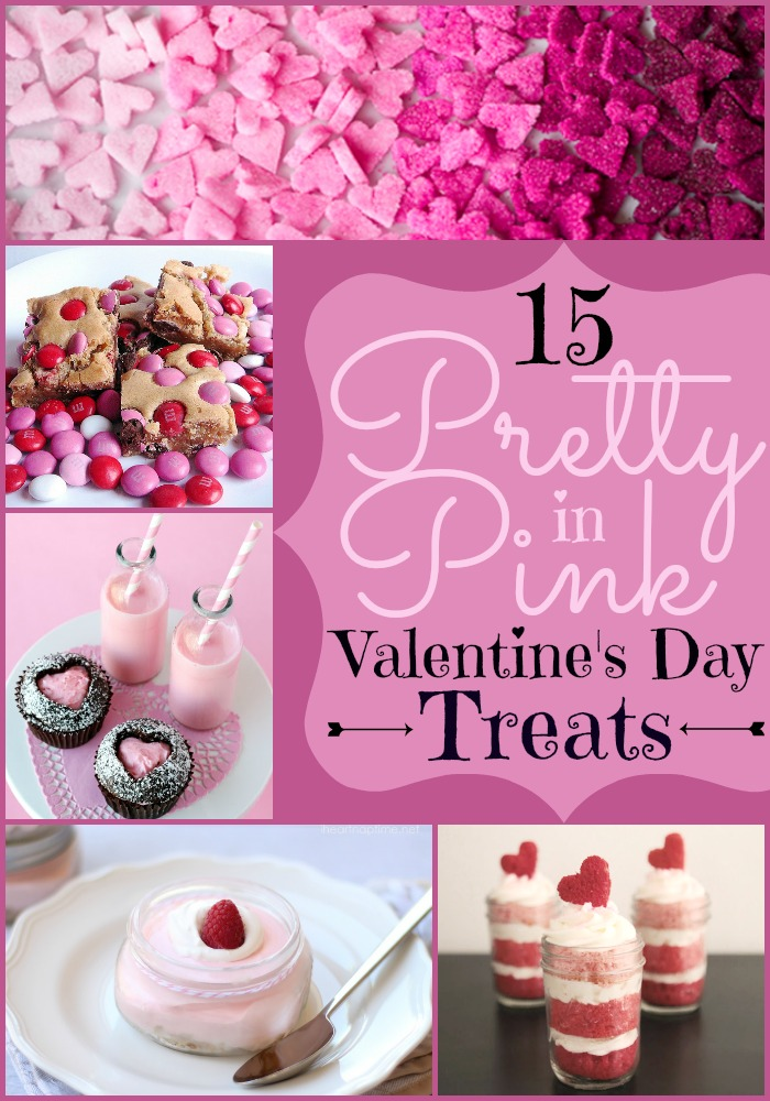15 Pretty in Pink Valentine's Day Treats - Dreaming of Leaving - HMLP 118 Feature