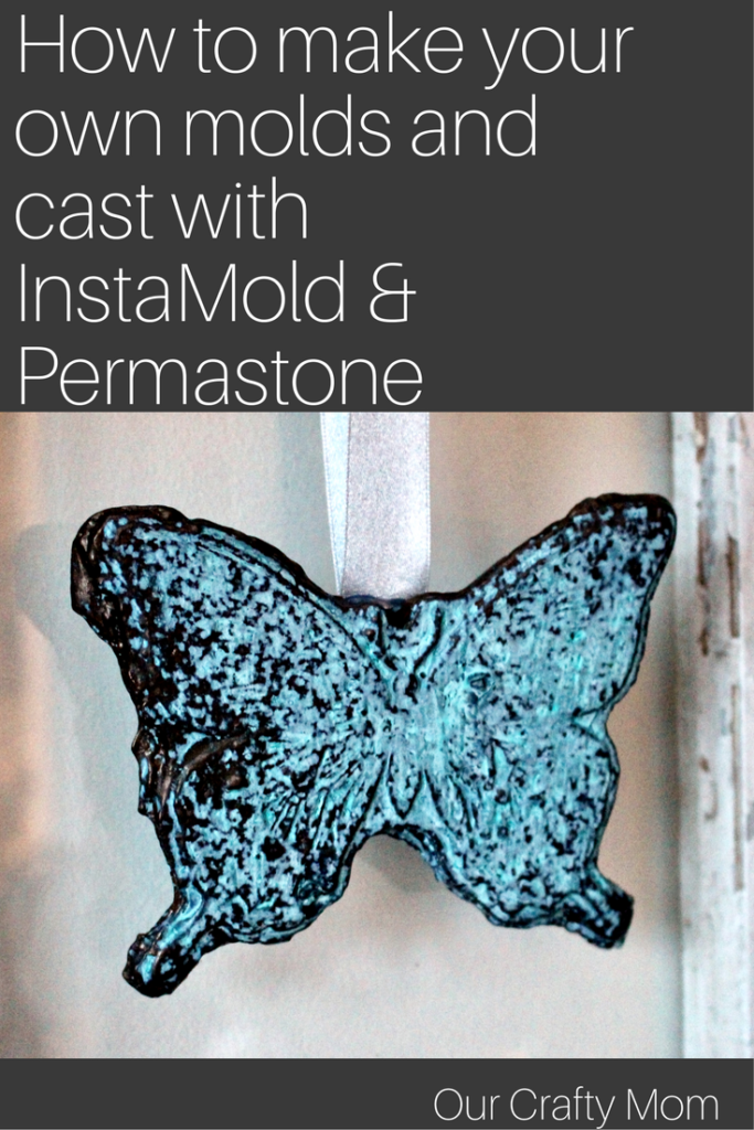 How To Mold And Cast With InstaMold And Permastone ACTIVA Our Crafty Mom