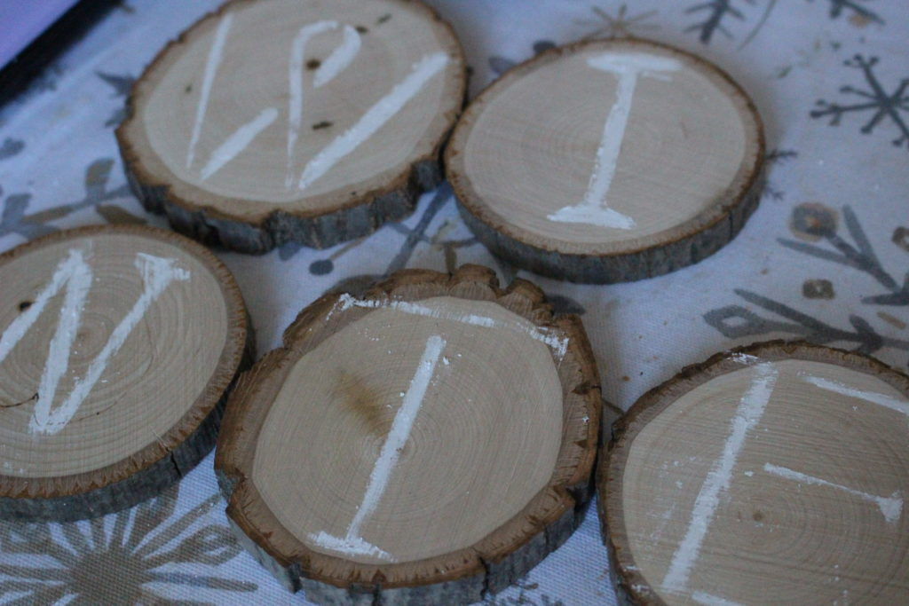 How To Make A Wood Slice Ornament Our Crafty Mom