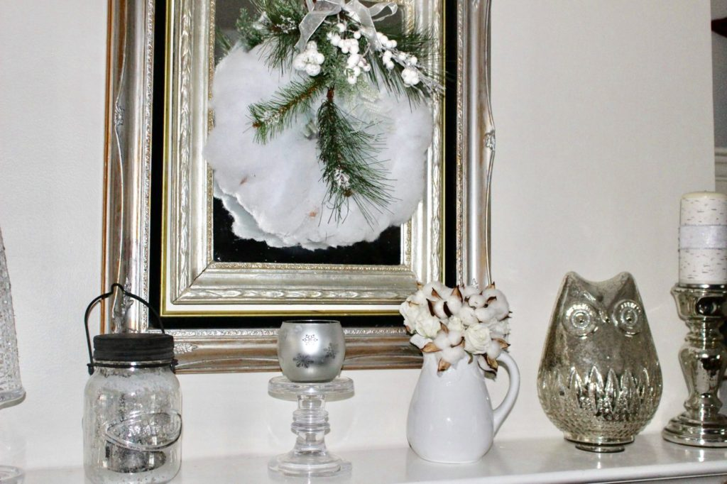 Make A Winter White Wreath For Under $5 Our Crafty Mom