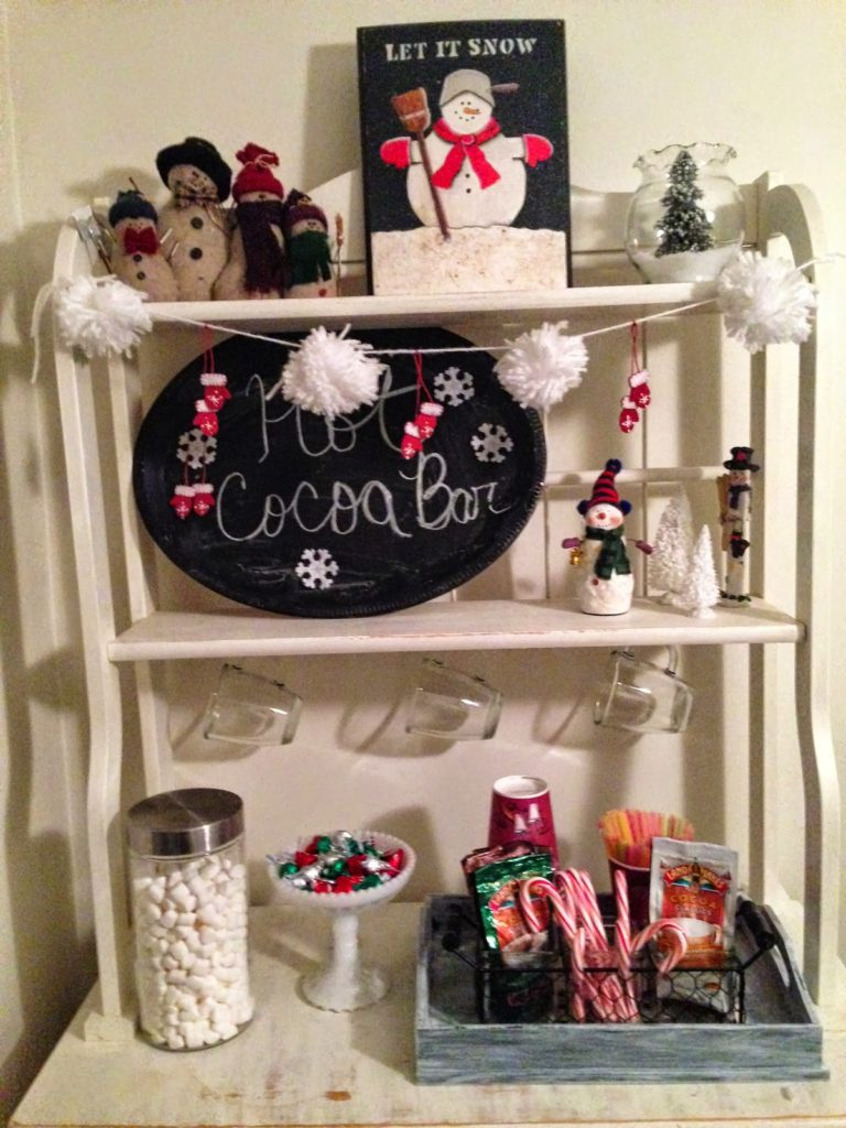 Winter Home Tour Blog Hop Our Crafty Mom
