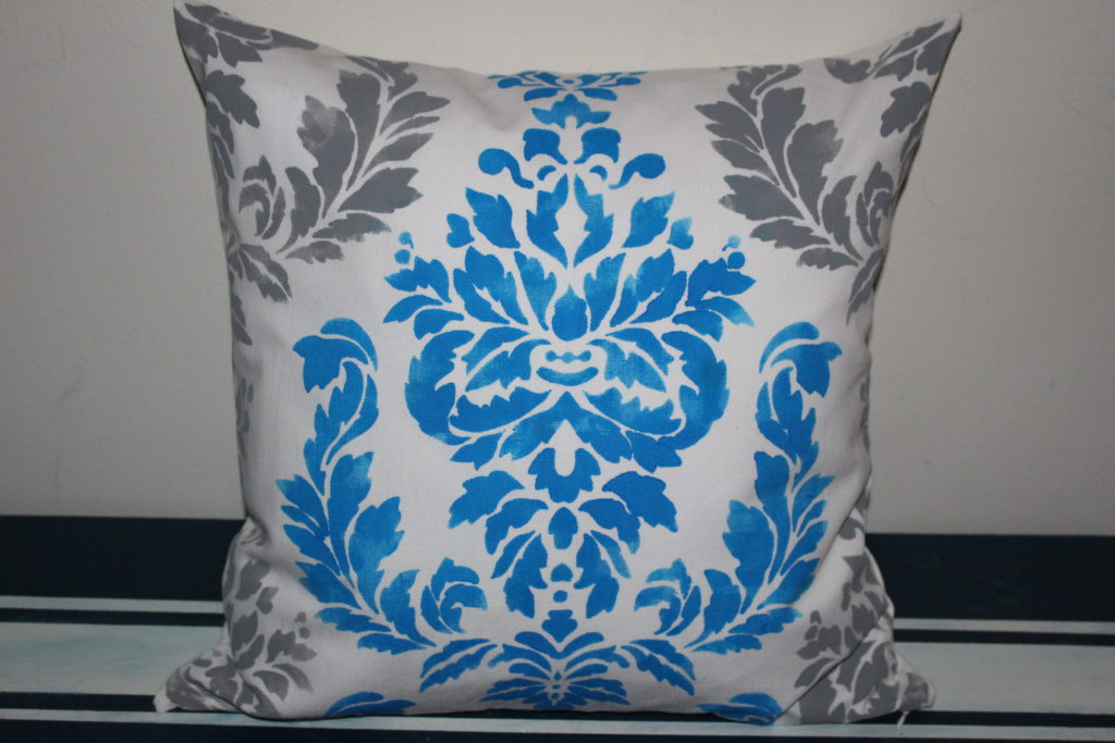How To Stencil A Pillow - Our Crafty Mom