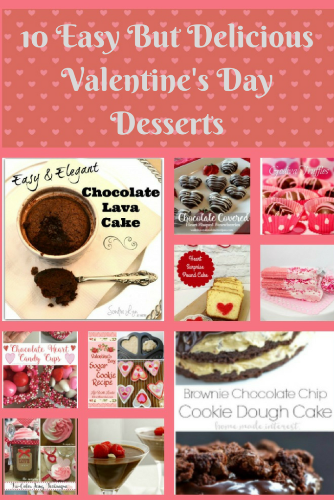 10 Easy But Delicious Valentine's Day Desserts Our Crafty Mom