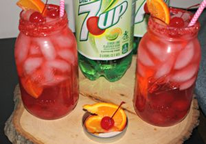 Grown Up Shirley Temple Recipe