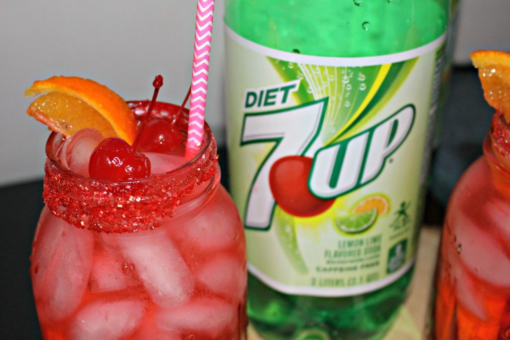 Grownl Up Shirley Temple Recipe Our Crafty Mom