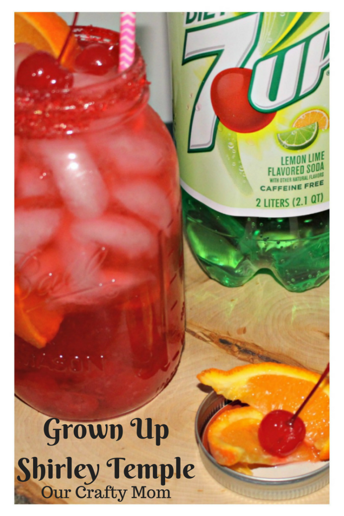 Grown Up Shirley Temple Recipe Our Crafty Mom Pinterest 2
