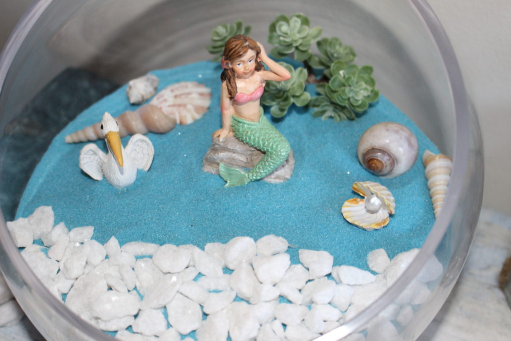How To Create A Beach Themed Fairy Garden Our Crafty Mom