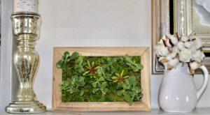 Craft Room De-Stash Challenge-Succulent Garden