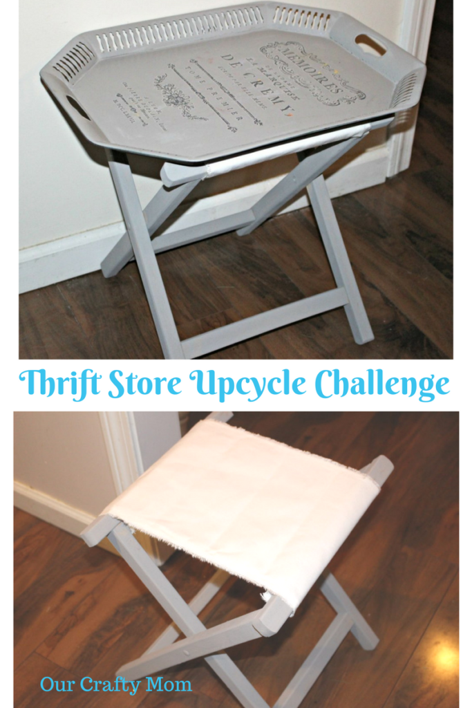 Thrift Store Decor Upcycle Challenge Our Crafty Mom