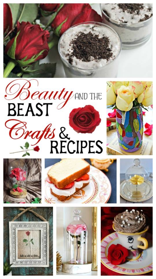 DIY Beauty & The Beast Flower Cloche Our Crafty Mom