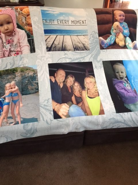 Preserve Family Photos With a Beautiful Photo Blanket Our Crafty Mom