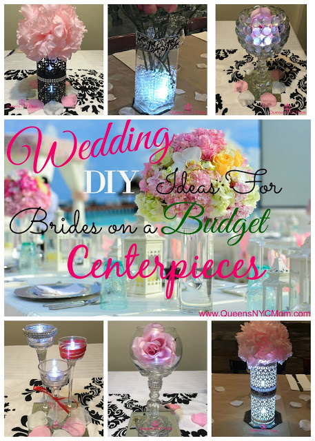 Wedding DIY Ideas for Brides on a Budget - Centerpieces - Queens NYC Mom - HMLP 122 Feature