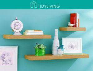 Organization Ideas and Tidy Living Shelf Bundle Giveaway