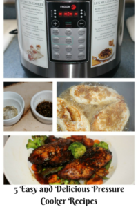 5 Easy and Delicious Meals Using A Pressure Cooker Our Crafty Mom