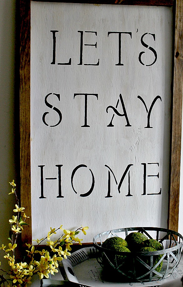 How To Make A Farmhouse Sign Our Crafty Mom 3