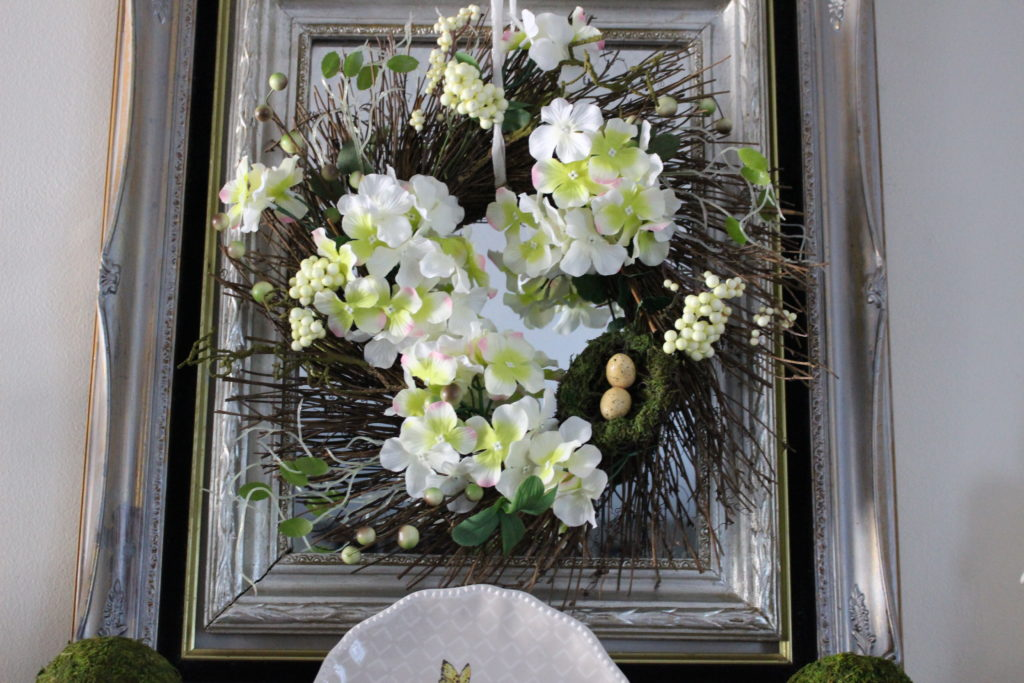 Spring Mantel Blog Hop Our C
