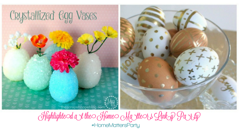 Come join the fun and link your blog posts at the Home Matters Linky Party 126. Find inspiration recipes, decor, crafts, organize -- Door Opens Friday EST.