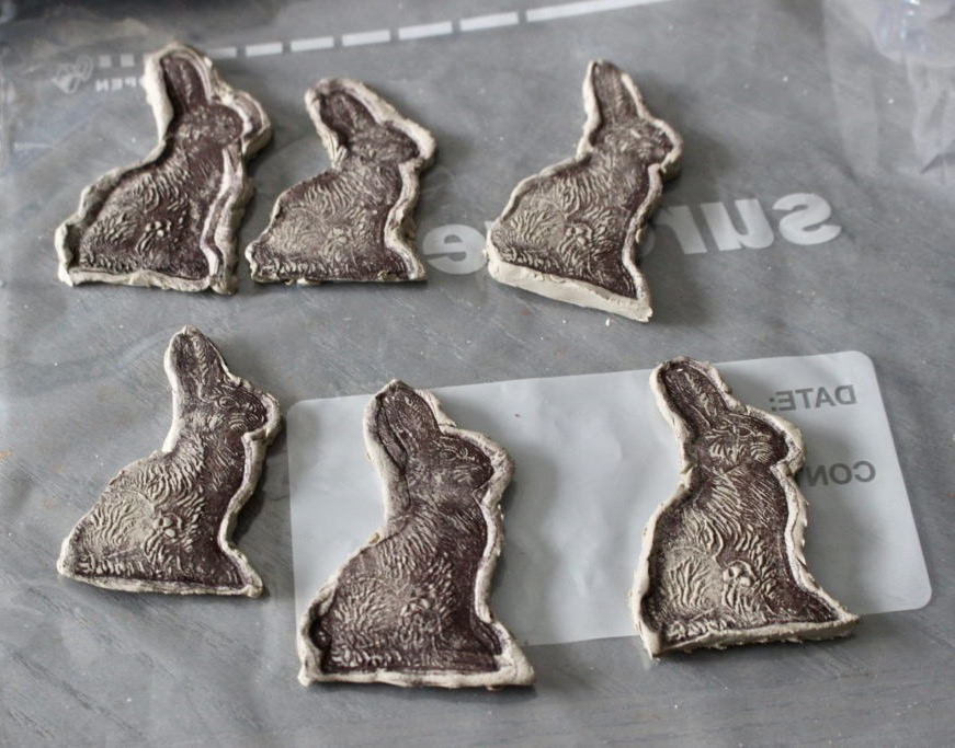How To Make Clay Easter Bunny Napkin Rings Our Crafty Mom