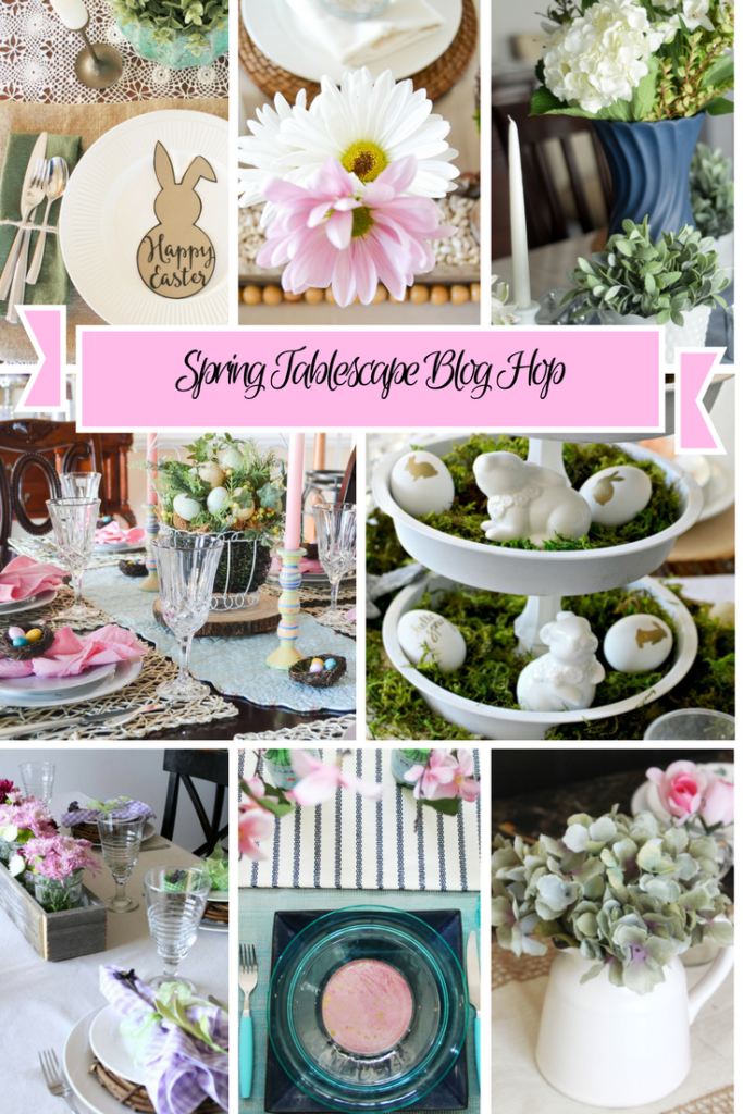 Thrifty Ideas For Your Spring Tablescape Our Crafty Mom
