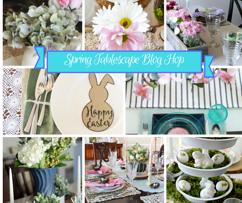 Thrifty Decor Ideas Easter Tablescape Our Crafty Mom