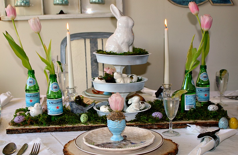 Spring Tablescape Blog Hop Our Crafty Mom 5