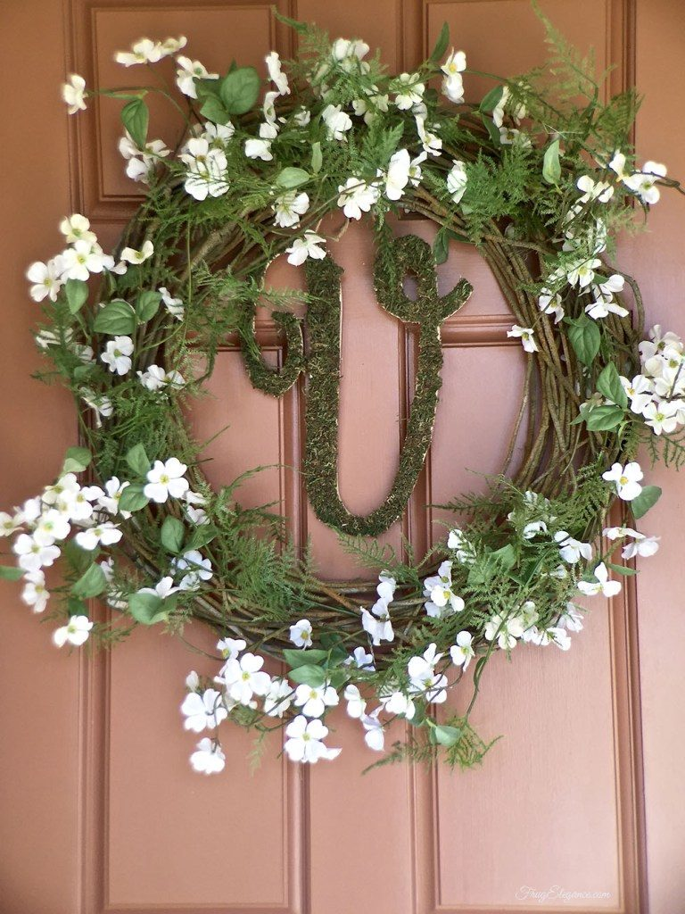 25 Beautiful Diy Spring Wreaths Our Crafty Mom