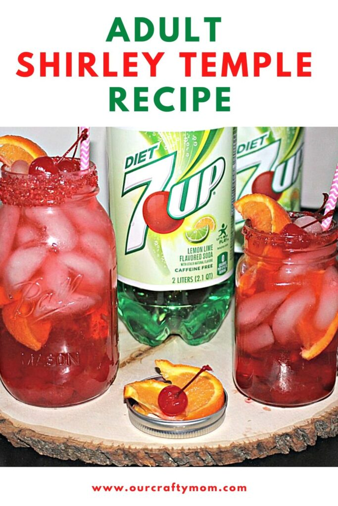 adult shirley temple recipe