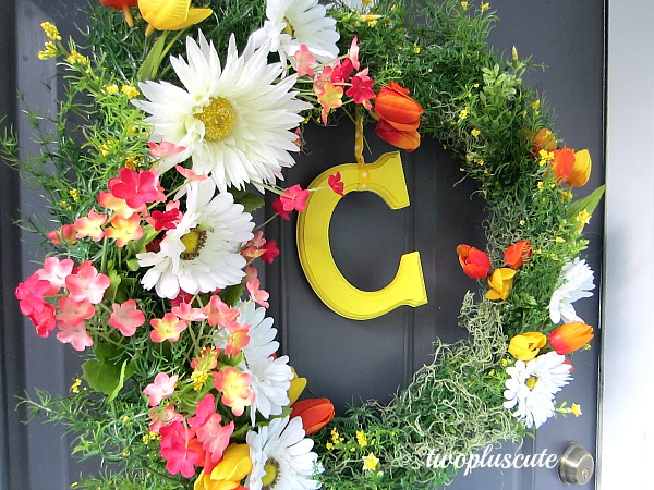 25+ Beautiful DIY Spring Wreaths Our Crafty Mom